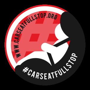 2017 #CarseatFullstop Logo & URL
